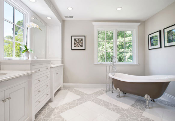 Akdo Bathroom Floor