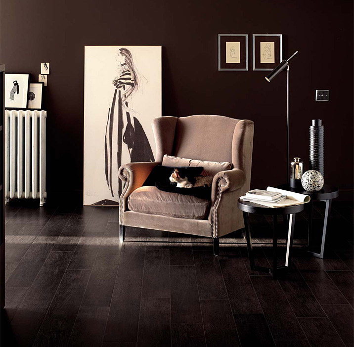 Belgique Dark Porcelain Planks